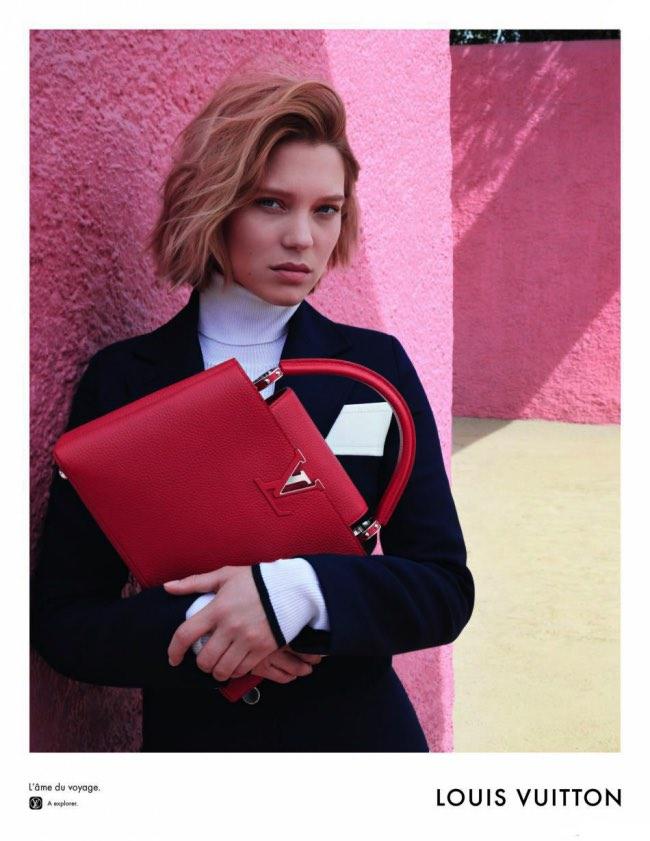 , Louis Vuitton Invite Lea Seydoux dans son Ranch Rose au Mexique cet Été