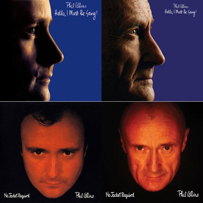 , Phil Collins Refait les Photos de ses Plus Populaires Albums (Avant et Après)