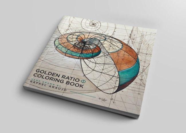 rafael araujo livre coloriage golden ration 1 - Nombre d'Or, un Livre de Coloriage pour Célébrer la Nature