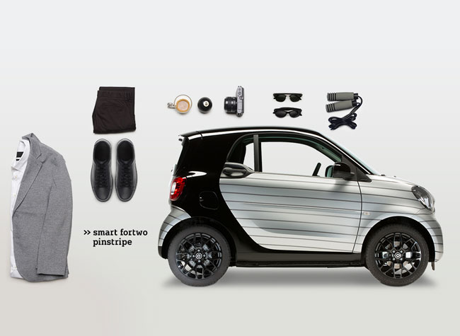 , Relooking Glam Chic pour la Nouvelle Smart for Two