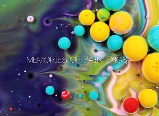 , Peintures Psychédéliques au Lait, Savon et Huile (video)