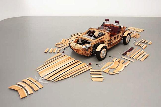 , Toyota Setsuna, Concept Car Tout en Bois pour Robinsons (video)