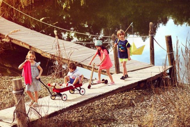 , Jour d'été pour Zara Home Kids Un Eté 2016 Festif