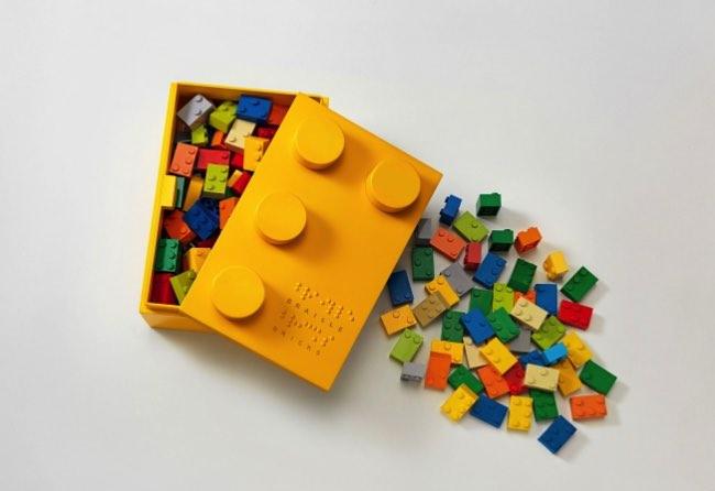 braille bricks lego apprentissage 3 - Briques Braille pour Apprendre aux Enfants Aveugles à Lire (video)