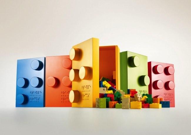 braille bricks lego apprentissage 5 - Briques Braille pour Apprendre aux Enfants Aveugles à Lire (video)
