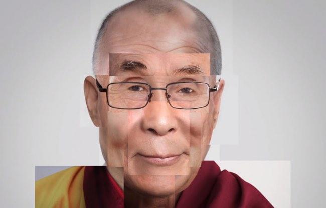 , Portraits de Personnalités Reconstitués avec des Visages d'Inconnus (video)