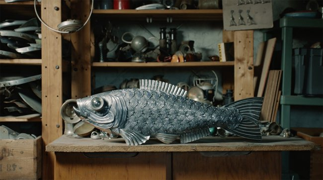 , Dans le Studio d'Edouard Martinet Sculpteur d'Insectes Métalliques (Video)