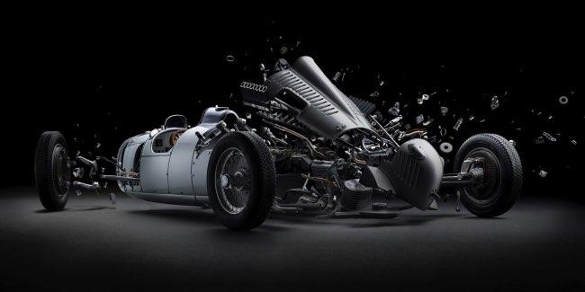 , Désintégration Spectaculaire de Luxueuses Super Cars (video)