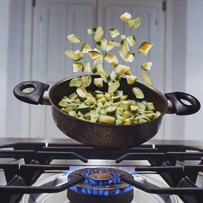 kitchensuspension-francesco-mattucci-photos, Zero Gravité pour ces Fruits et Légumes en Lévitation