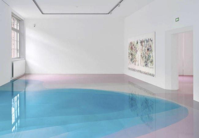 , Les Sols en Résine 3D Prennent d'Artistiques Airs de Lagons