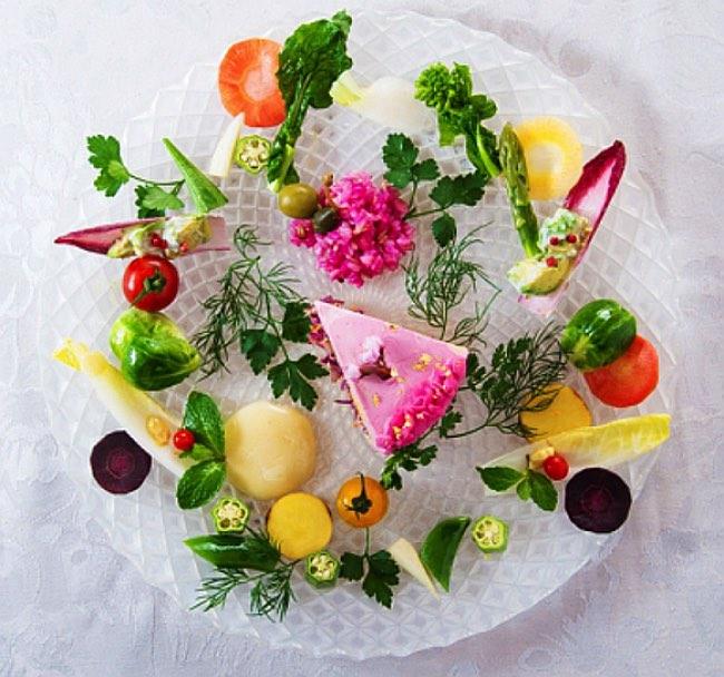 , Salad Cakes, les Gâteaux de Légumes Beaux et Bons pour la Santé