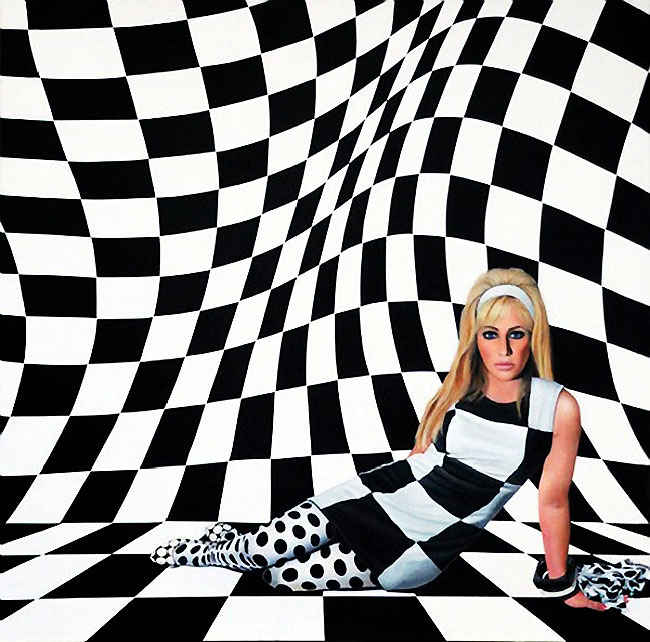 , Art Moderne et Mode dans des Toiles Photorealistes