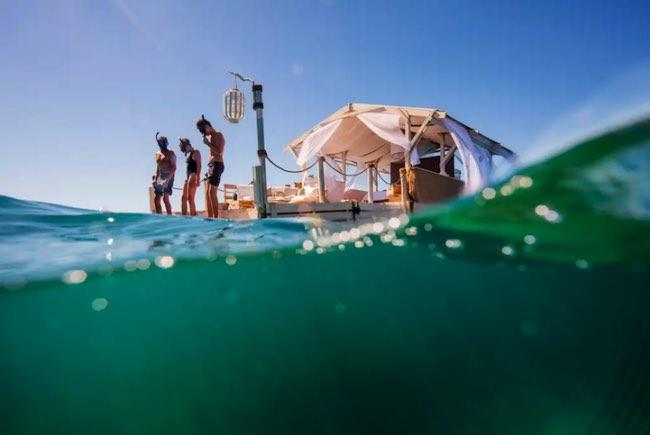 , Cette Maison Flottante sur la Grande Barrière de Corail va vous Faire Rêver