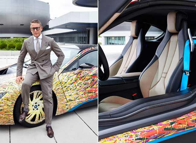 , Voici la Plus Artistique des BMW i8 Inspirée par Giacomo Balla