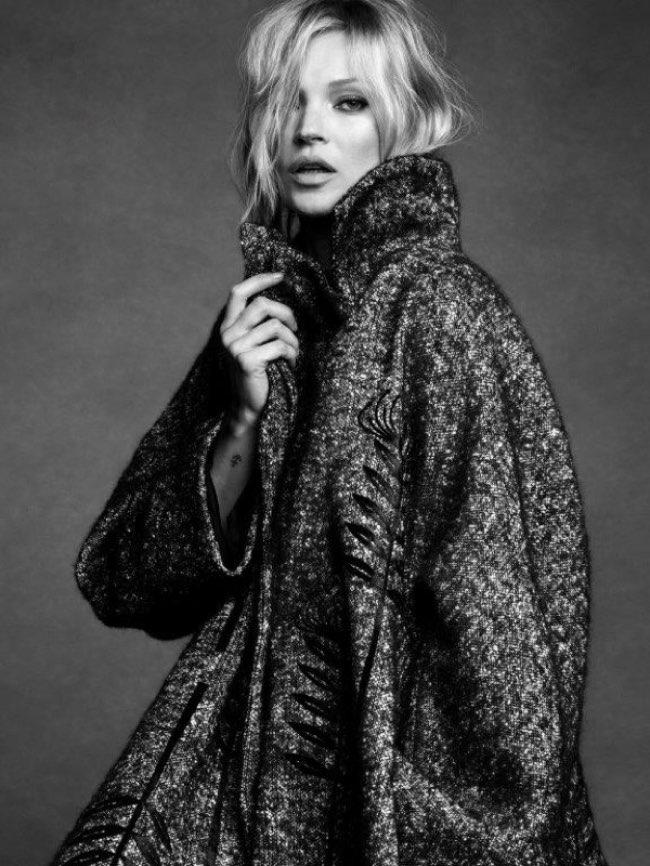 , Kate Moss l'Egérie Glam Rock d'Alberta Ferretti Hiver 2016