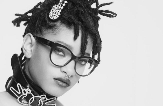 , La Fille de Will Smith en Solaires pour Chanel Eyewear