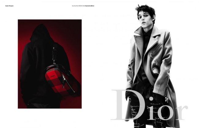, Encore des Célébrités chez Dior Homme Hiver 2016 2017