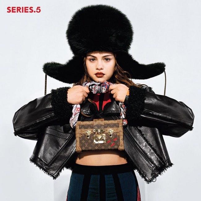 , Selena Gomez Star de la Campagne Louis Vuitton Series 5