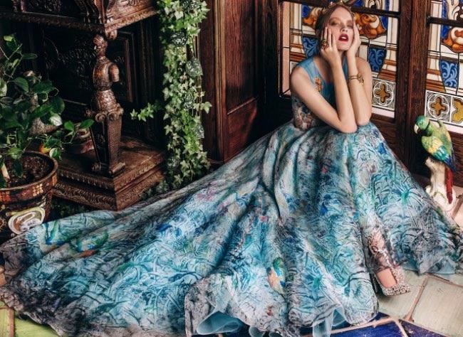 , Ces Robes Magnifiquement Illustrées à l'Allure d'Oeuvres d'Art