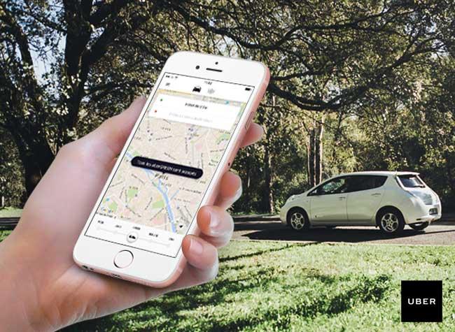 ubergreenen iphone smartphone paris 1 - Avec UberGreen, Rouler en Voiture Ecolo c'est plus Durable