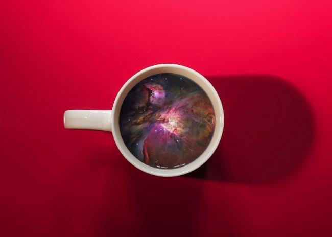 , Quand la Tasse de Café Matinale Invite à l'Evasion