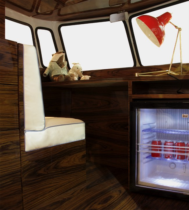 vw camper van lit camionnette volkswagen enfants 3 - Lit Fourgonnette Combi Van pour Chambre d'Enfants (video)