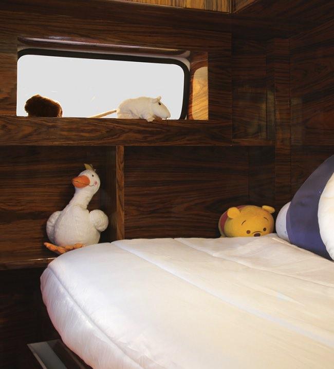 vw camper van lit camionnette volkswagen enfants 5 - Lit Fourgonnette Combi Van pour Chambre d'Enfants (video)