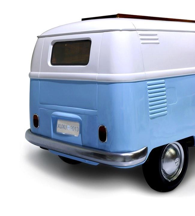 vw camper van lit camionnette volkswagen enfants 7 - Lit Fourgonnette Combi Van pour Chambre d'Enfants (video)