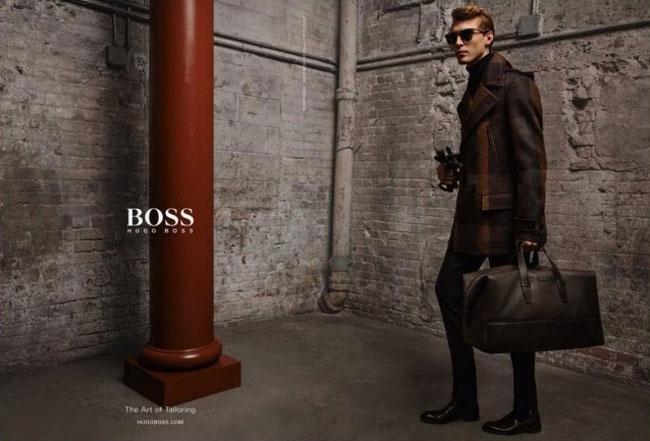 , Campagne sur Mesure pour Hugo Boss Homme Hiver 2016