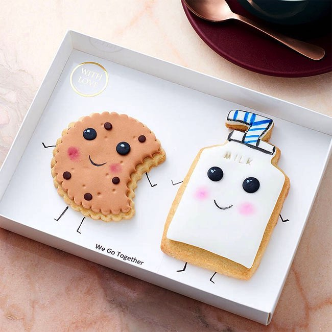 , Dites-le avec ces Adorables Gâteaux à la Bouille Expressive