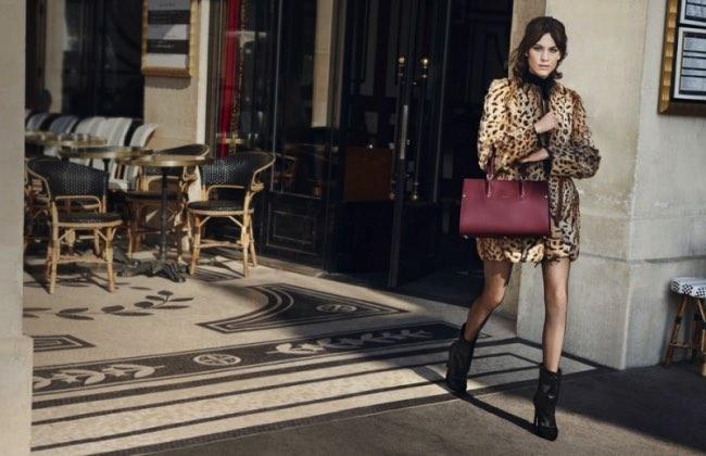 , Alexa Chung de Retour à Paris pour Longchamp Hiver 2016