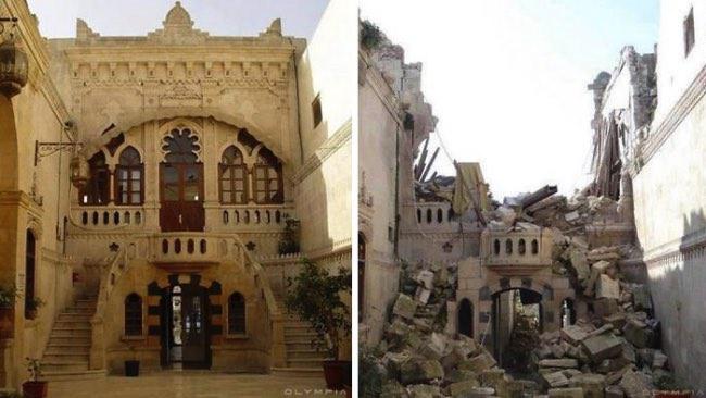 , 10 Photos Déchirantes de la Ville d'Alep Avant et Après la Guerre