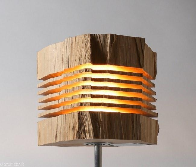 Ce Tronc D Arbre Au Design Tranche Va Illuminer Vos Interieurs