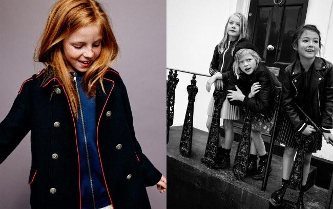 , Les Enfants Zara s'offrent une Rentrée 2016 à l'Anglaise