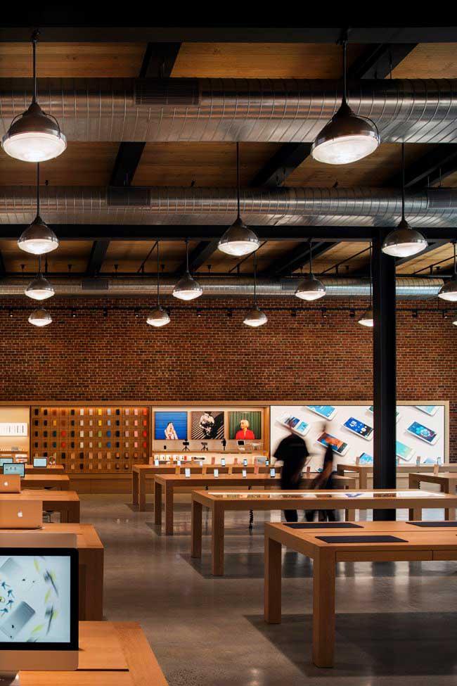 , Un Apple Store Rustique Ouvre au Coeur de Brooklyn
