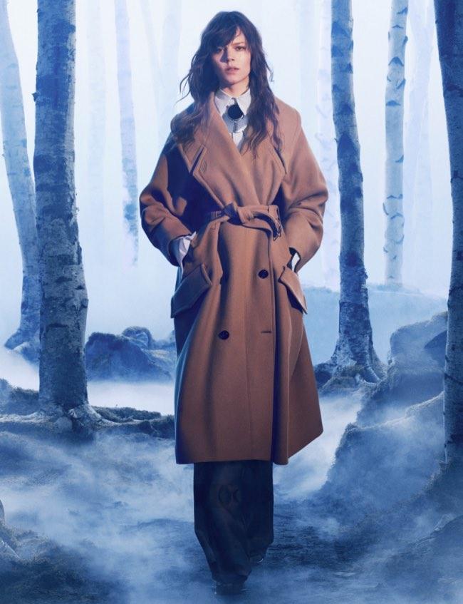 , H&M Studio Retrouve Hermes dans la Forêt cet Hiver 2016