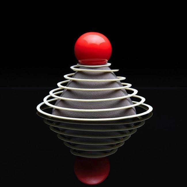 dinara kasko patisserie art sculpture 2 - Artistiques Pâtisseries Géométriques par Dinara Kasko (video)