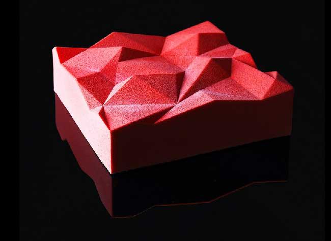 dinara kasko patisserie art sculpture 25 - Artistiques Pâtisseries Géométriques par Dinara Kasko (video)