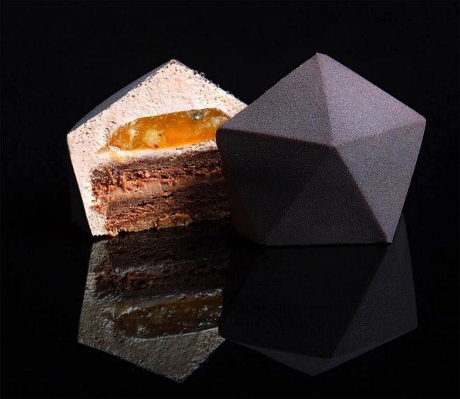 dinara kasko patisserie art sculpture 9 - Artistiques Pâtisseries Géométriques par Dinara Kasko (video)