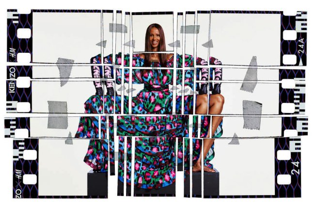 , Collection H&M x Kenzo dans Campagne Very Goude