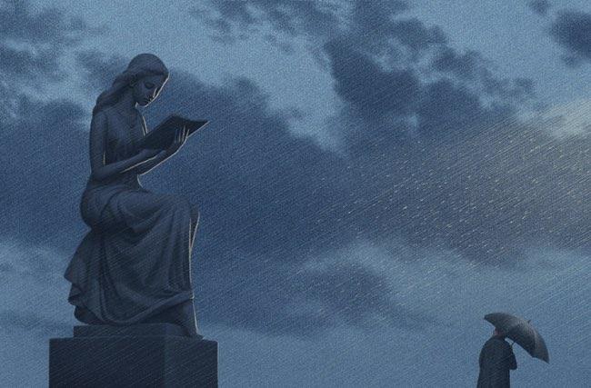 jungho lee, La Beauté des Livres Révélée dans de Poétiques Illustrations