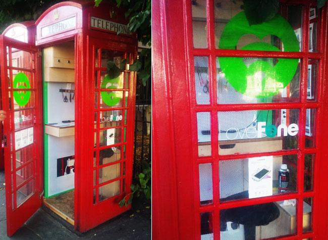 , Londres Transforme ses Cabines Téléphoniques en Boutiques
