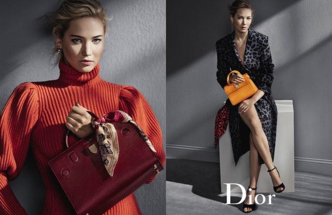, Les Sacs Dior font une Rentrée 2016 Glamour avec Jennifer Lawrence