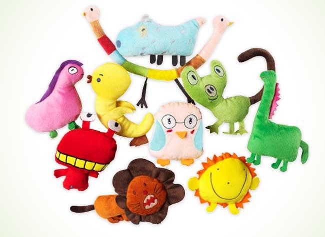 ikea peluches enfants personnalisees dessins 1 - Chez Ikea, les Peluches ont Ete Dessinées par des Enfants