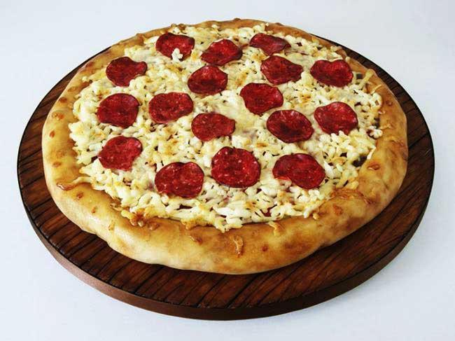 , Les Pâtisseries Prennent des Airs de Pizzas, Burgers, Spaghettis