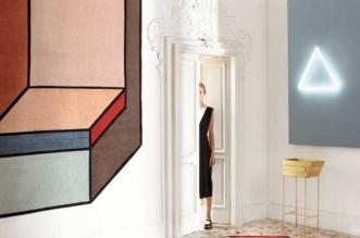 patricia urquiola visioni cc tapis 3d 1 331x219 - Tapis d'Art en Fausse 3D à l'Inspiration 'De Stijl' et Mondrian
