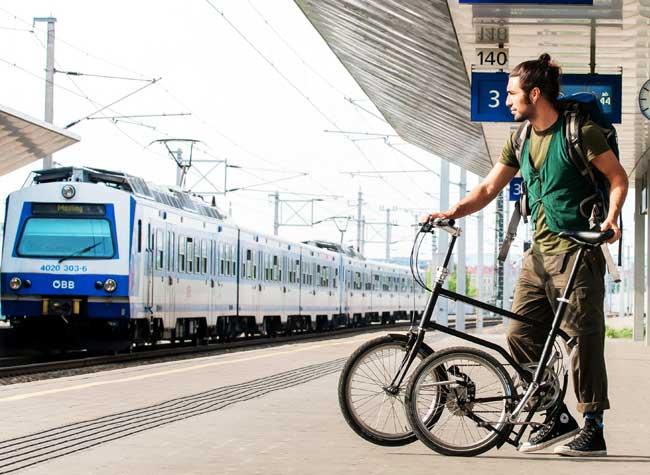 , Rechargez en Roulant ce Vélo Électrique, Pliable et Connecté (video)