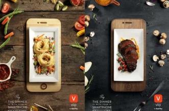 vlip aval pay campagne food art smartphone pub 4 331x219 - Quand les Petits Plats Prennent des Airs de Smartphones
