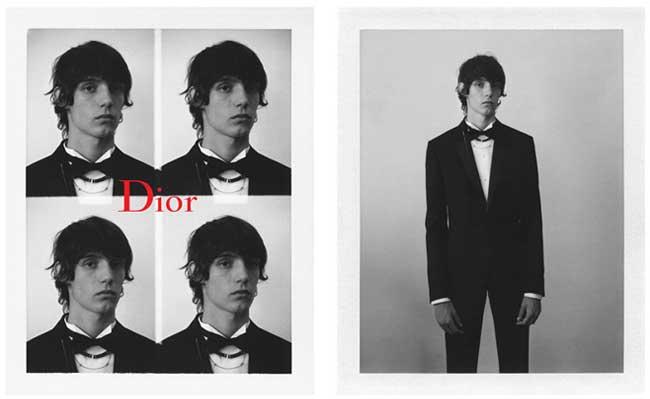 campagne dior homme printemps 2017 black carpet 2 - Dior Homme Ruine ses Costumes pour Jouer les Rebelles (video)