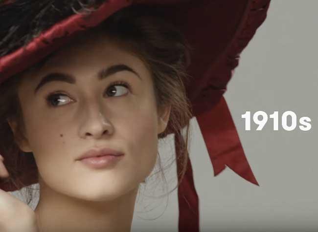 , 100 Ans d'Evolution du Chic à la Parisienne en 1 Minute (video)